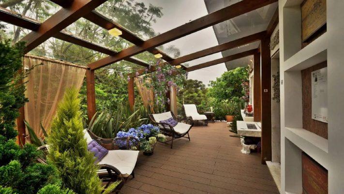 Устройство зимних садов